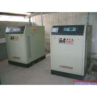进口复盛螺SA37A 37KW杆喷砂设备空压机低价出售九成新