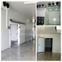 专业冷库工程承包 上海苏世冷气工程 2-50HP 速冻冷库 制冷工艺设计