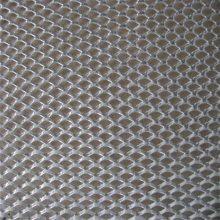 防滑钢板网 菱形钢板网规格 旺来镀锌钢格板
