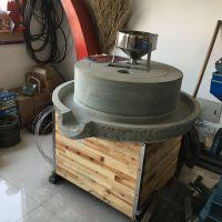 鼎信厂家销售肠粉米浆专用电动石磨机 豆腐专用石磨机