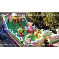 供应江西九江儿童充气城堡大滑梯 熊出没充气蹦蹦床多少钱 江西九江厂家