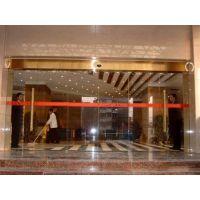 安装自动平移门(咨询)|白云区松洲自动感应门|玻璃自动感应门