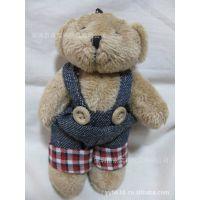 厂家直供 泰迪熊 抱抱熊 手机挂件 手机饰品