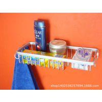 太空铝实心收纳架 浴室置物架 卫生间转角架 厨房置物架层架带钩