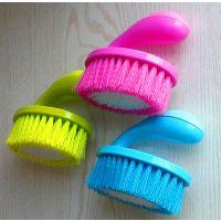 【物美价优】优质塑料洗衣刷 手柄式多色家务清洁洗衣刷