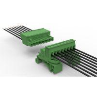 小轨道插拔式接线端子 不滑丝不划牙 绿色环保端子 LC16-5.08