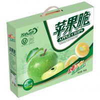 供应芳心之恋268g礼盒装苹果脆片