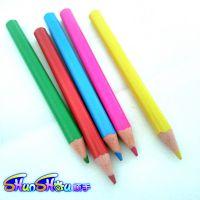 儿童环保铅笔、画图铅笔、彩色铅笔、义乌铅笔厂家生产塑料杆系列铅笔