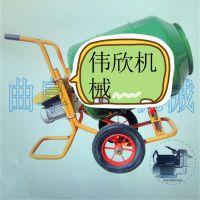 卧式饲料搅拌机便携扶带伟欣 小麦花生两用拌种机性能可靠 种子包衣机经济实用
