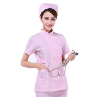 供应吸湿排汗短袖护士服分体套装