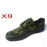厂家生产销售 高帮男迷彩帆布鞋  军品质量 作训解放鞋 品质保证