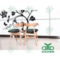 全实木美式乡村餐椅 仿实木餐厅餐椅 环保家具定制 运达来