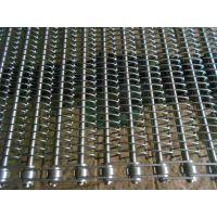 我厂生产 不锈钢网带 人字形网带 304 食品专用网带 山东德州