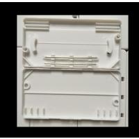 江帆通信 2进2出皮线光缆熔接盒 2芯皮线光缆保护盒 双芯保护盒