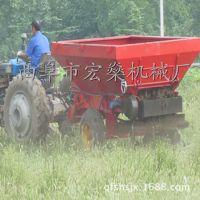 宁夏拖拉机牵引式颗粒肥撒肥车 双盘撒肥机撒粪机