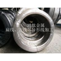 SUS304不锈钢扁线 316不锈钢碳钢扁线 不锈钢扁线价格