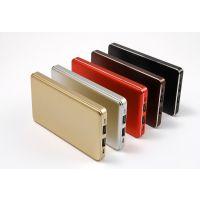 8000毫安土豪金超薄,双USB输出移动电源822,厂家直销招代理商