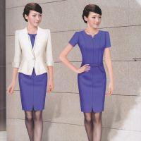 新款秋季职业套装女装时尚两件套设计高质量的定制厂家定做