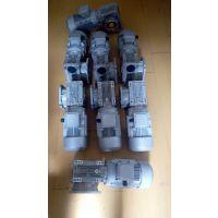 上海青浦包装机械常备万鑫铝合金涡轮减速机NMRV063/25-YS8024-0.75KW