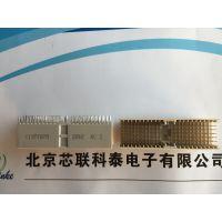 154809 220085 220093恩尼ERNI工椌主板80针1.27mm间距SMC连接器