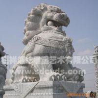直销规格齐全精美优质嘉祥动物石雕狮子  批发现代门狮石雕