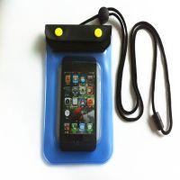 厂家批发三星/IPHONE手机防水袋 可触屏pvc防水手机袋 可定制LOGO