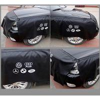 定制 4S店汽车维修叶子板护垫布三件套汽修翼子板防护垫pu水洗皮革