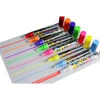 索美奇SC606荧光板专用液体粉笔多彩绘画书笔写可定制