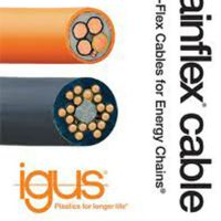 IGUS电缆CF130.02.03UL带屏蔽PVC高抗弯强度控制电缆