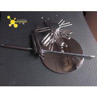 定制不锈钢旋转首饰展示架 镜面不锈钢展示架