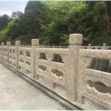 四川驰升批量供应仿石铸造石喷砂栏杆 河堤护栏