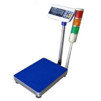 三色灯报警200公斤电子秤 不干胶打印台称多少钱