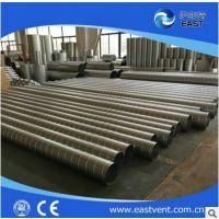耐高温镀锌保温螺旋风管各种大口径双层保温螺旋风管热销供应
