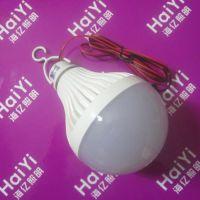 DC12-85V宽电压12W大圆塑料低压球泡 led灯泡夜市地摊照明灯泡