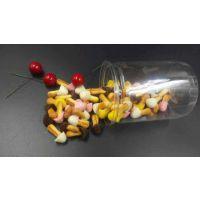 蘑菇粒四口味爆款混合口味微信代理新款散装罐装零食批发厂家直销
