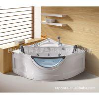 厂家直销 17年出口欧美品质 热销全球双人冲浪按摩浴缸M3135