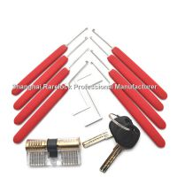 Rarelock 锁匠练功锁防盗门锁锁工具套装练习锁