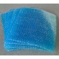 易碎物品缓冲包装材料厂生产定制蓝色泡直径10mm气泡袋抗震减压性价比高