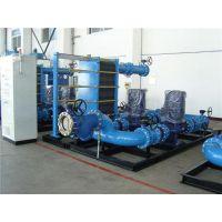 板式换热机组、德州中傲您的、水水板式换热机组