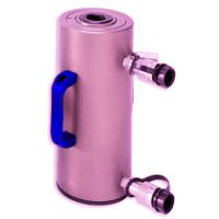 艾乐森加工定制 DAL活塞式 铝制轻型油缸 液压千斤顶