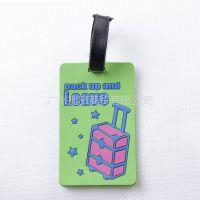 供应佳途时尚行李牌/旅游行李吊牌 登机牌 证件套 旅游用品绿色旅行箱