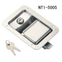 按压式门锁 不锈钢锁具 平面锁 NT1-5005