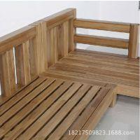 意申实木家具批发高档客厅沙发 全实木沙发新款简约时尚沙发组合