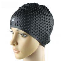 厂家定做硅胶泳帽 护耳硅胶游泳帽 防水硅胶游泳帽 达到出口标准