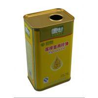 供应精美亚麻籽油包装|亚麻籽油铁桶包装|亚麻籽油包装铁罐厂家