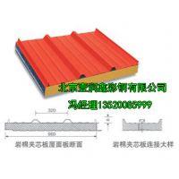 岩棉夹芯板|北京防火岩棉夹芯板规格|岩棉夹芯板|机制岩棉夹芯板