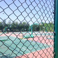 旺来包塑勾花网规格 勾花网计算公式 网球场围网图片