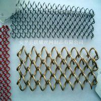 批发隔断装饰网帘 优质金属网帘 金属窗帘 不锈钢网帘