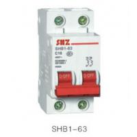 供应上海尚自SHB1-63系列高分断小型断路器