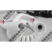 供应3*2.5白色螺旋电缆国美苏宁专用